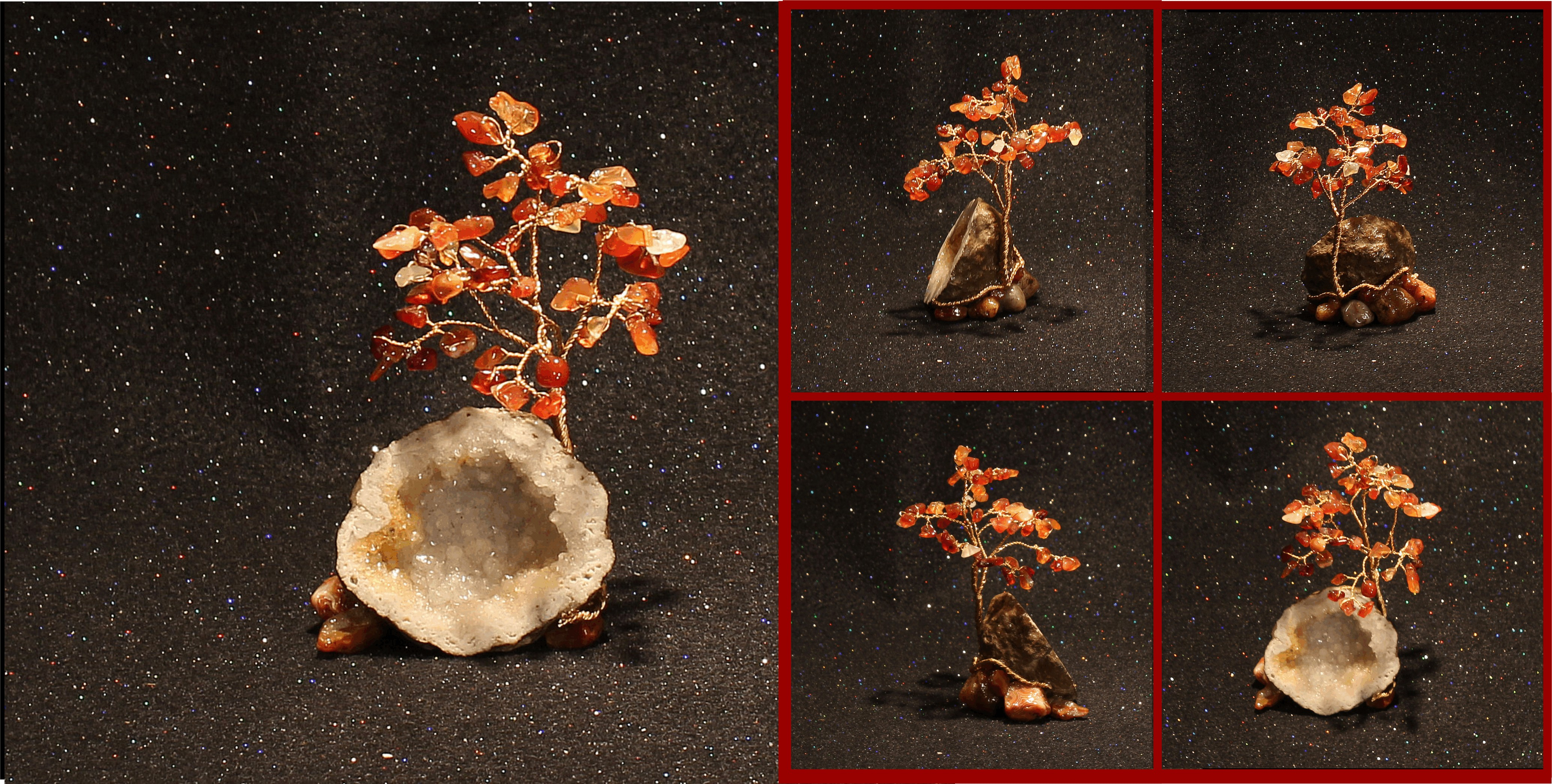 carnelian on keokuk geode 1