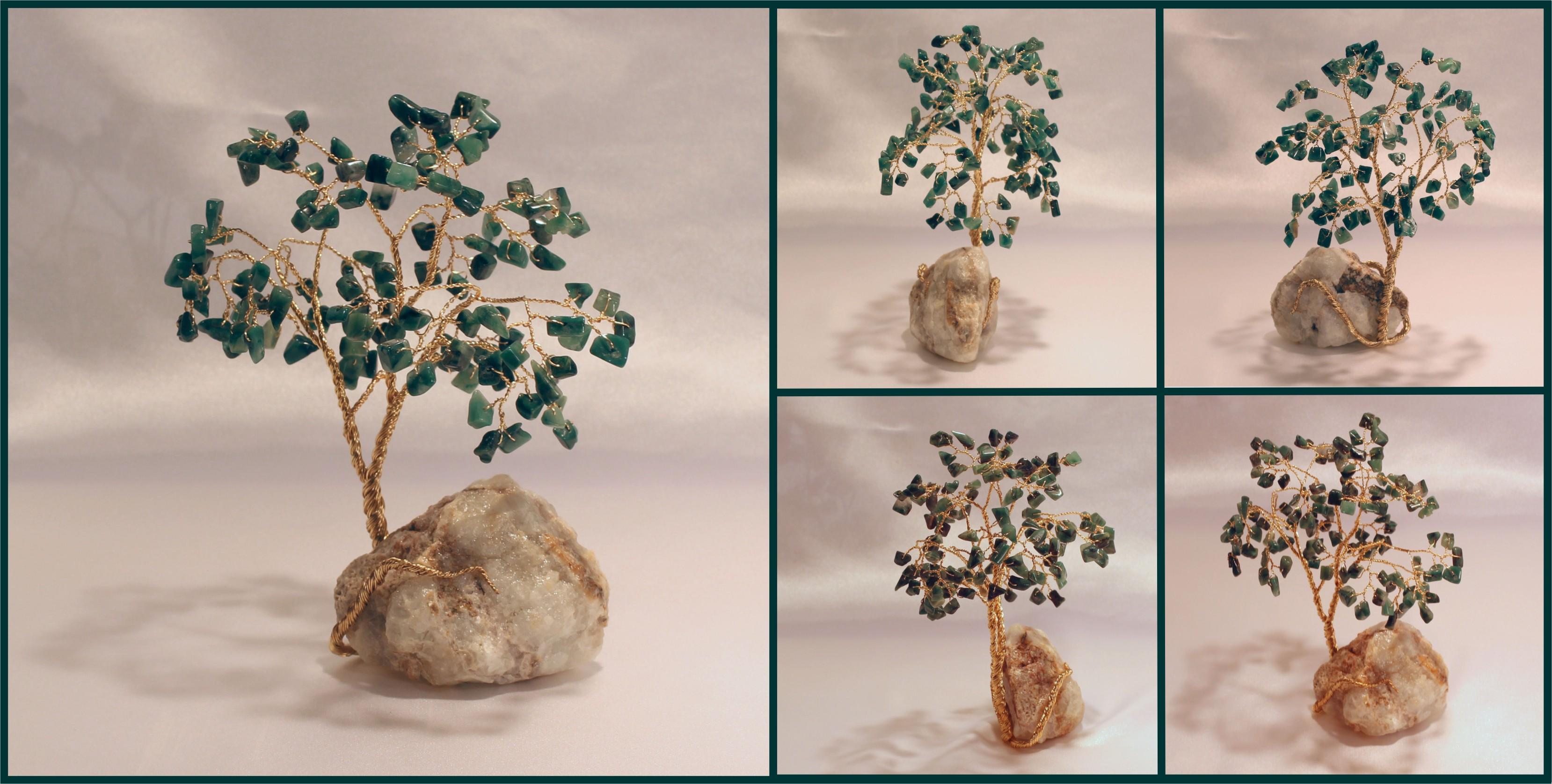 african jade on fluorite 11.