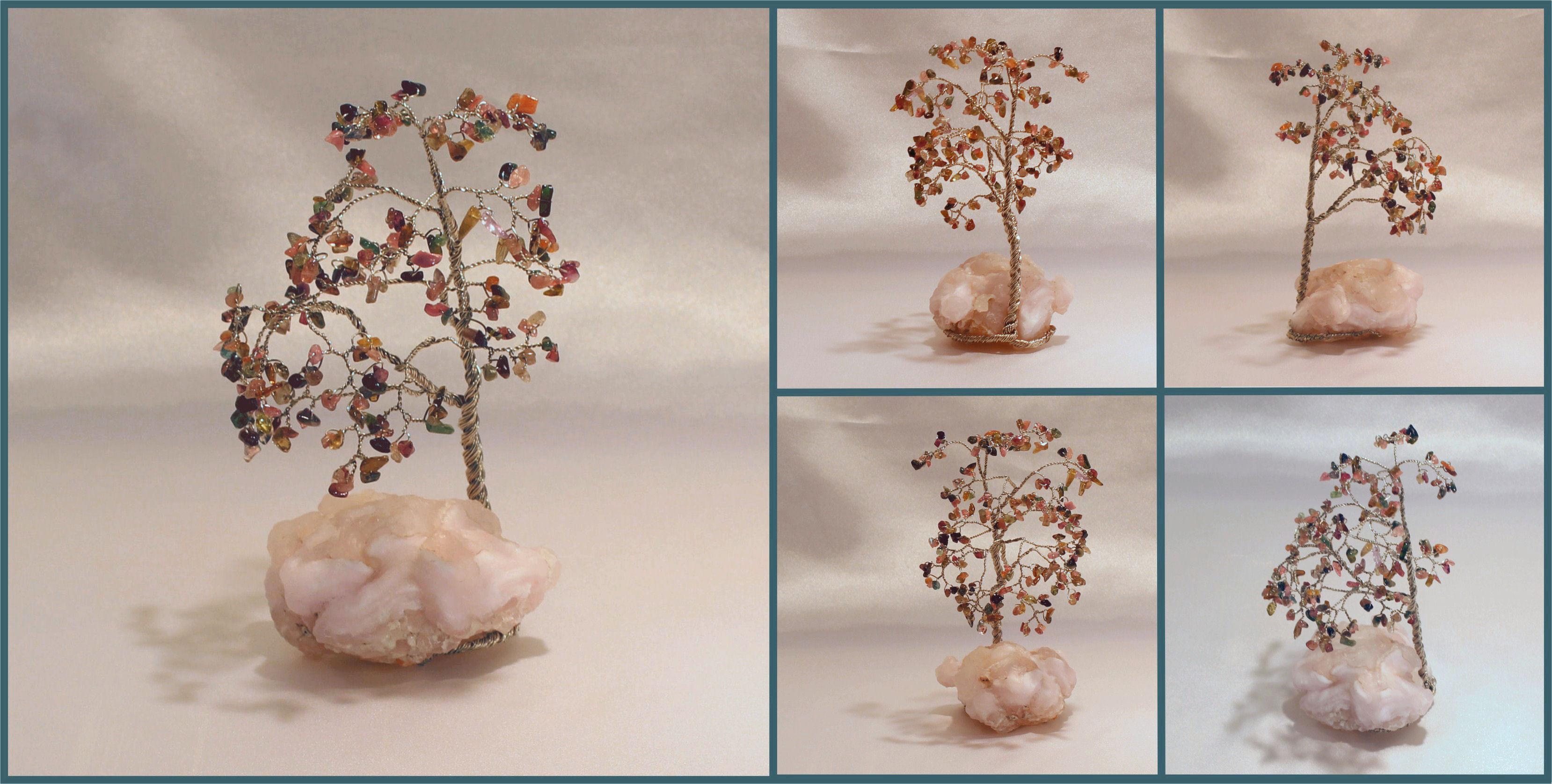 tourmaline on chalcedony rose 1 082016